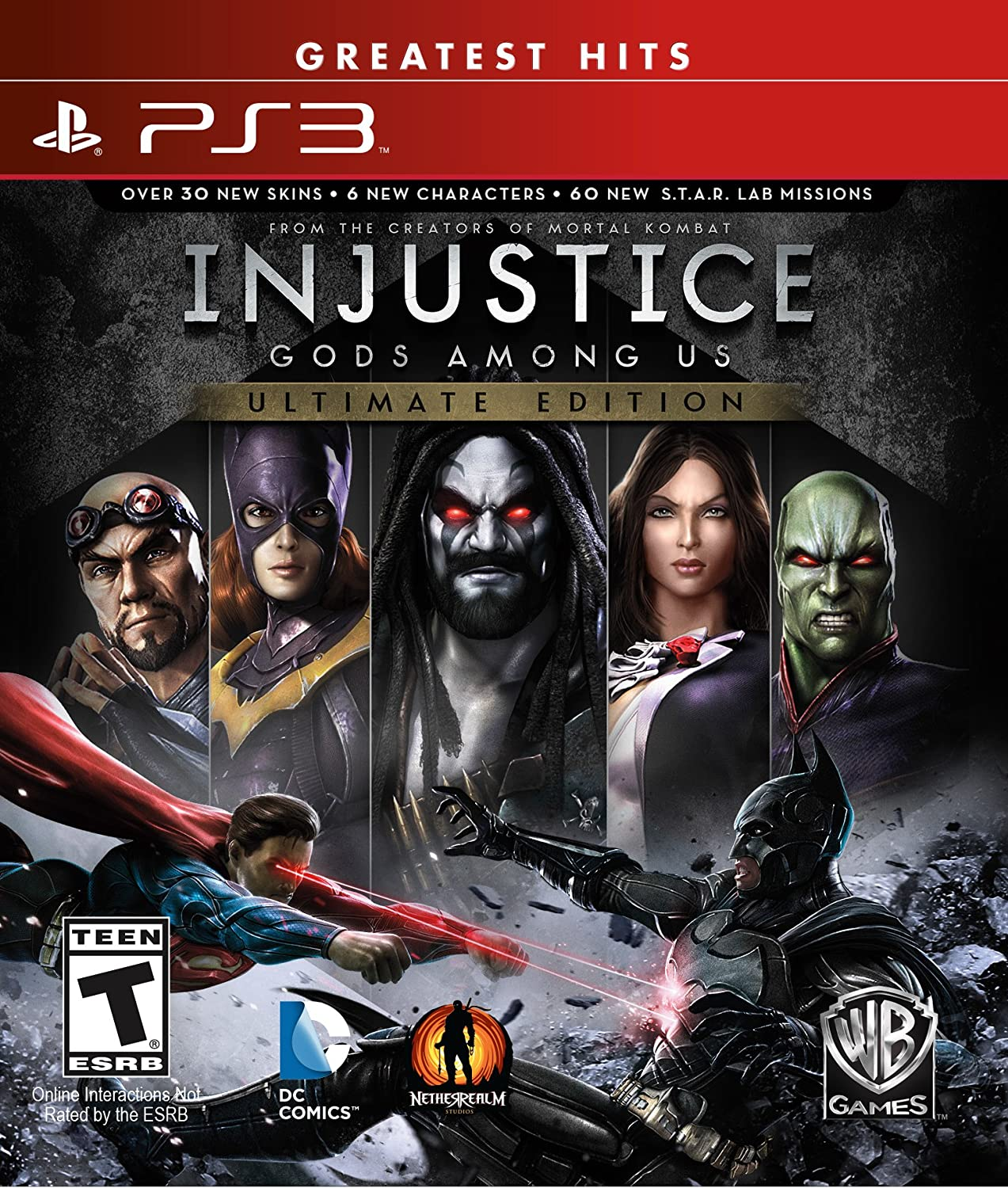Amazon Com Injustice Gods Among Us Ps3 Ultimate Edition Whv Games Video Games