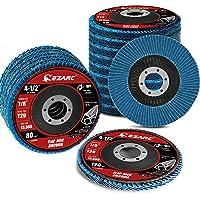 20 Pack Flap Discs 115 x 22,23 mm Zirconia Slijpwiel Type 29 Diverse Grit 40/60/80/120 Haakse Grinder Schuurschijf voor…