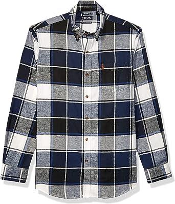 Chaps Camisa de Franela de Manga Larga de Ajuste clásico para Hombre: Amazon.es: Ropa y accesorios