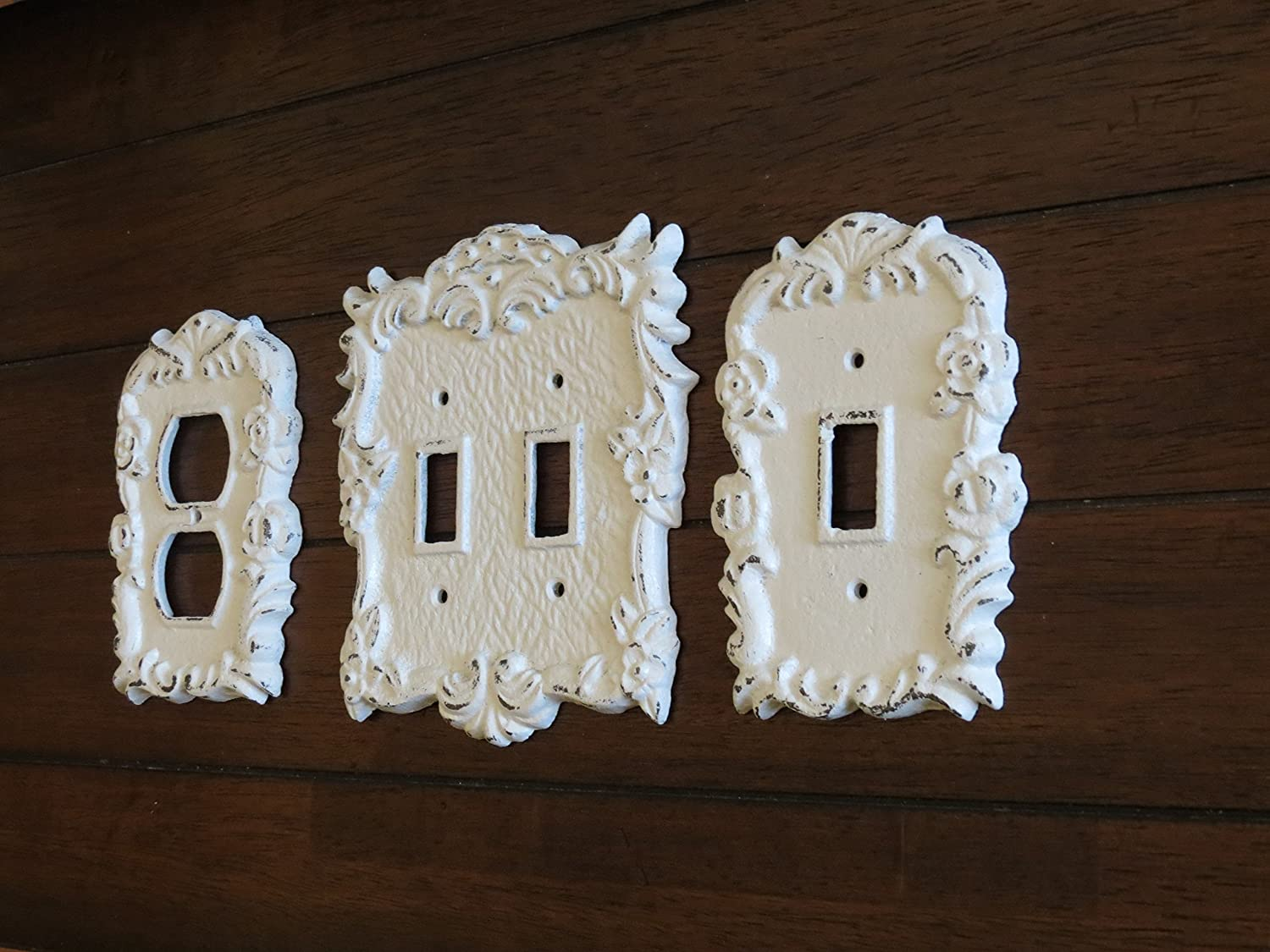 Amazoncom Antique White Light Switch Cover Light Plate Cover
