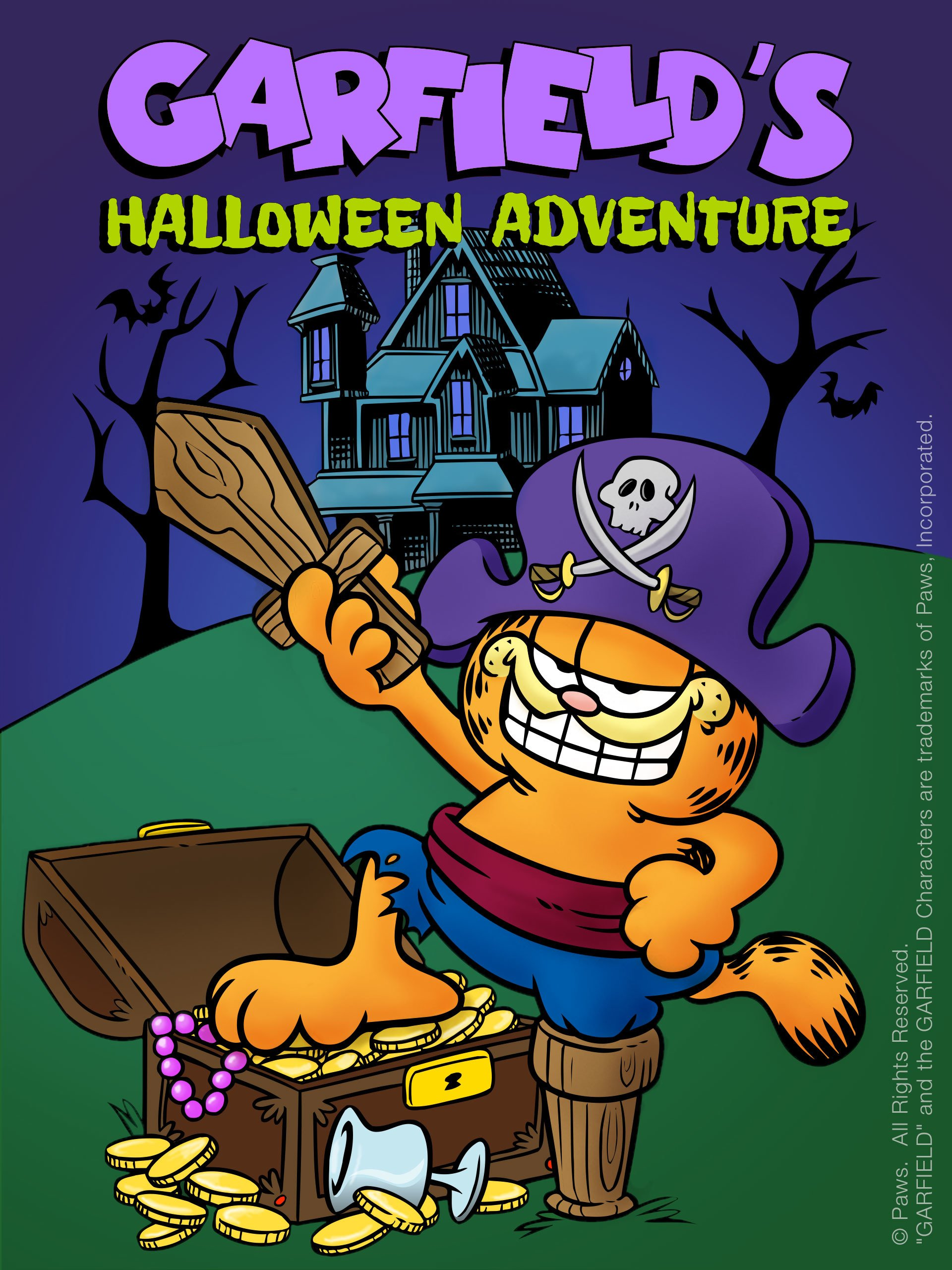 Halloween Adventure.Amazon Com Watch Garfield S Halloween Adventure Prime Video