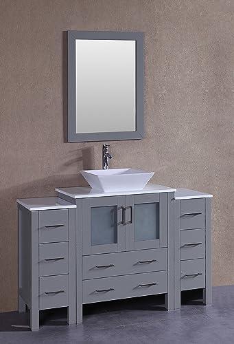 Bosconi AGR130S2S 54″ Single Vanity