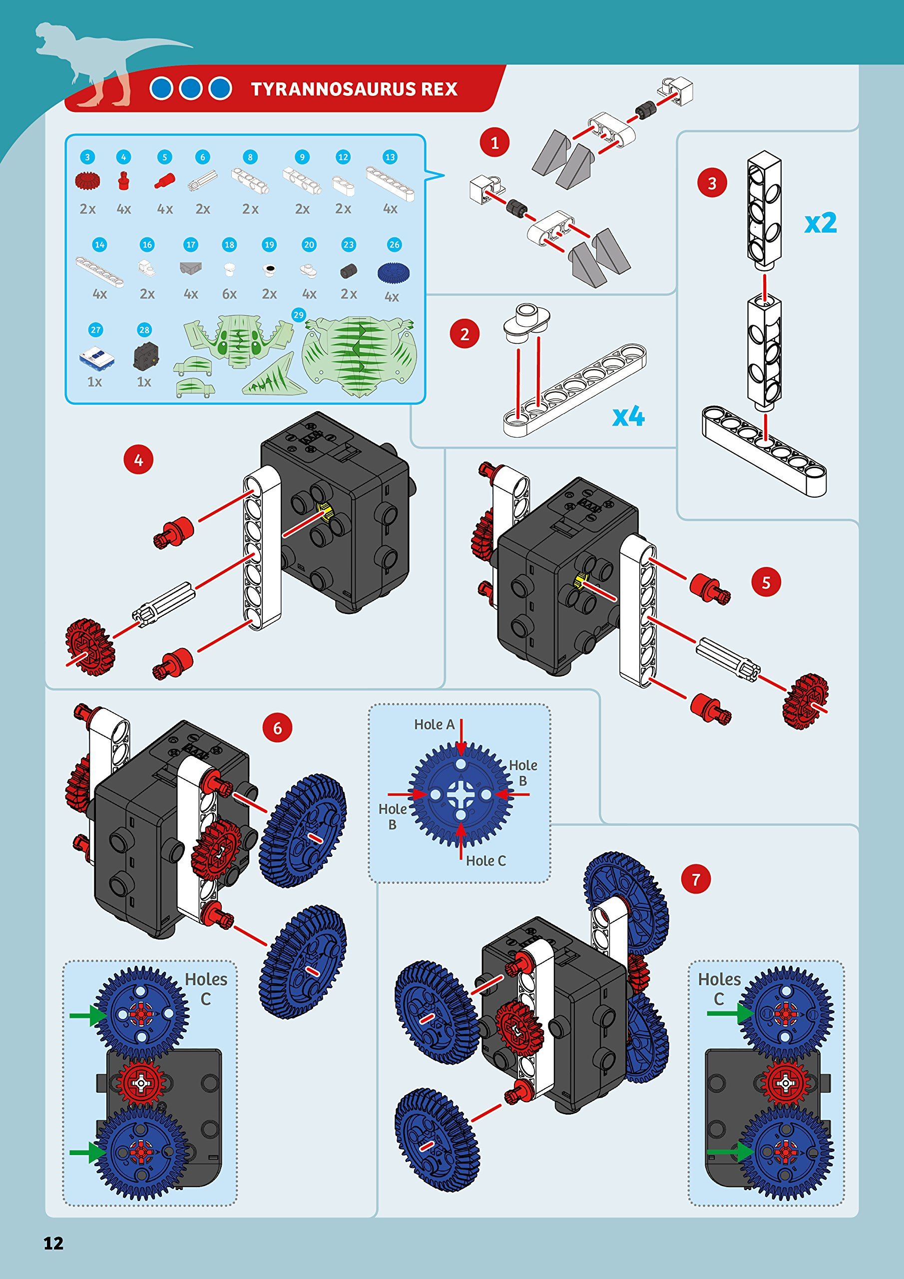 Thames & Kosmos Remote-Control Machines: Animals Science Kit by Thames & Kosmos (Image #9)
