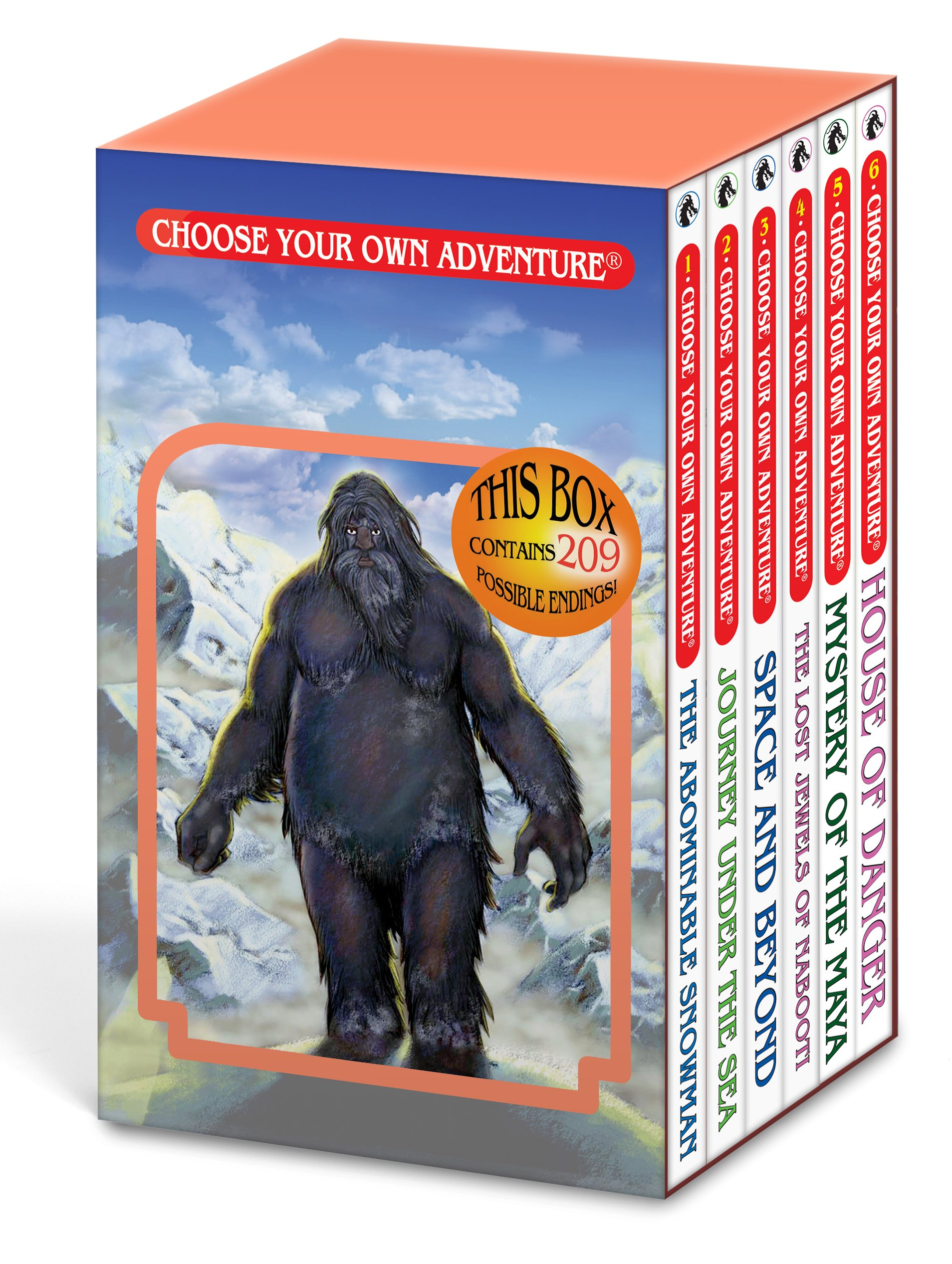 Abominable Snowman Journey Nabooti Adventure product image