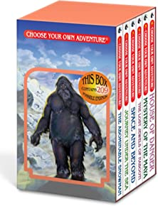 The Abominable Snowman/Journey Under the Sea/Space and Beyond/The Lost Jewels of Nabooti/Mystery of the Maya/House of Danger (Choose Your Own Adventure 1-6) (Box Set 1)