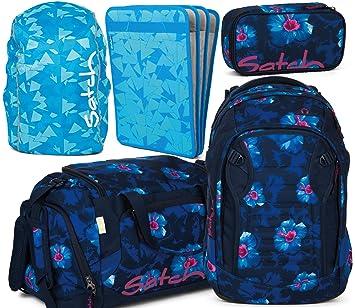 1cfd55e85d096 satch match Waikiki Blue 5er Set Schulrucksack