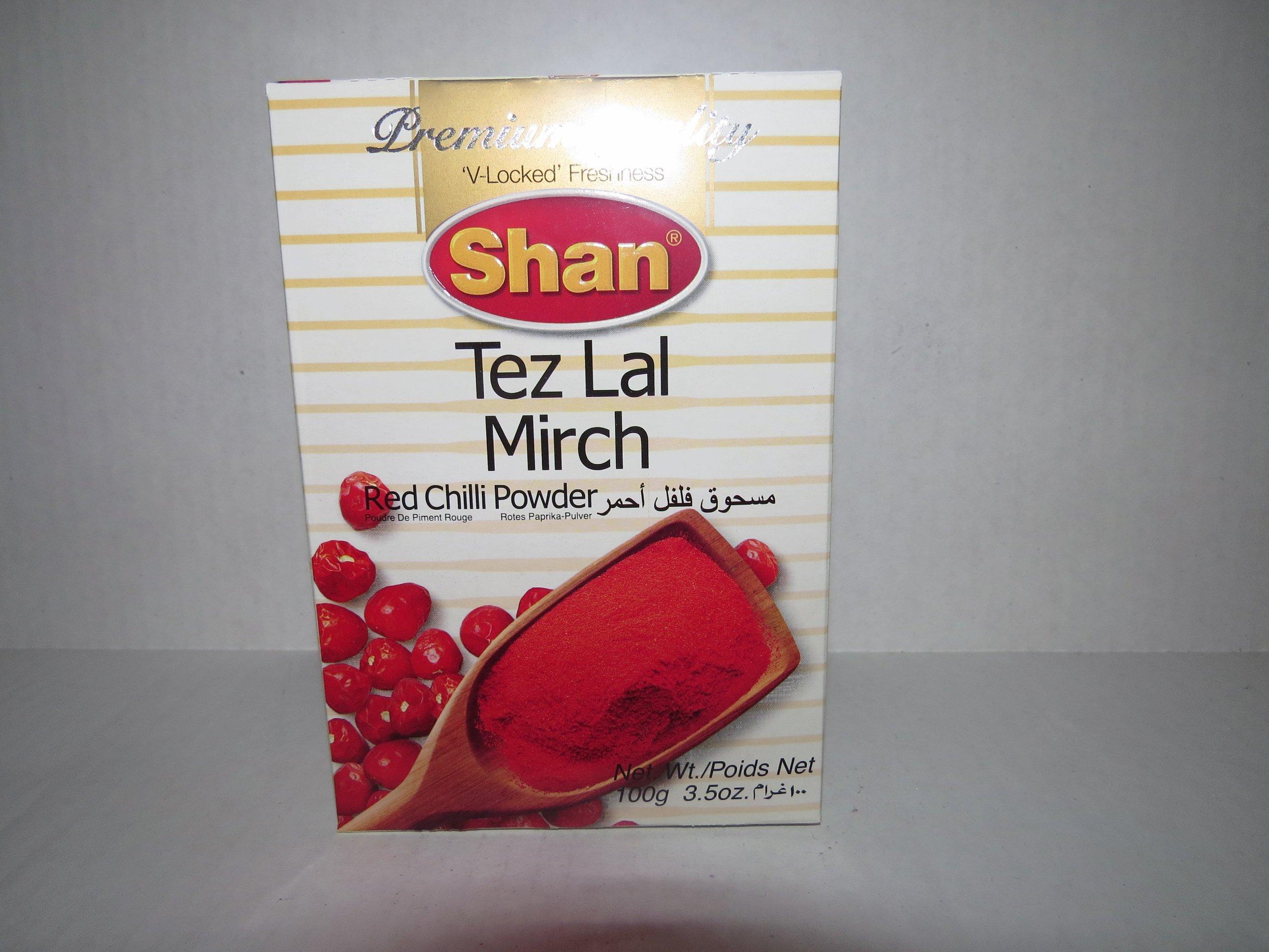 Shan Tez Lal Mirch 100g (Chilli Powder)