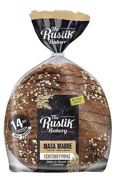 The Rustik Bakery, Pan de centeno envasado - 450 gr.
