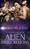 Alien Indiscretions: A Reverse Harem Romance (Clans of Kalquor Book 9)