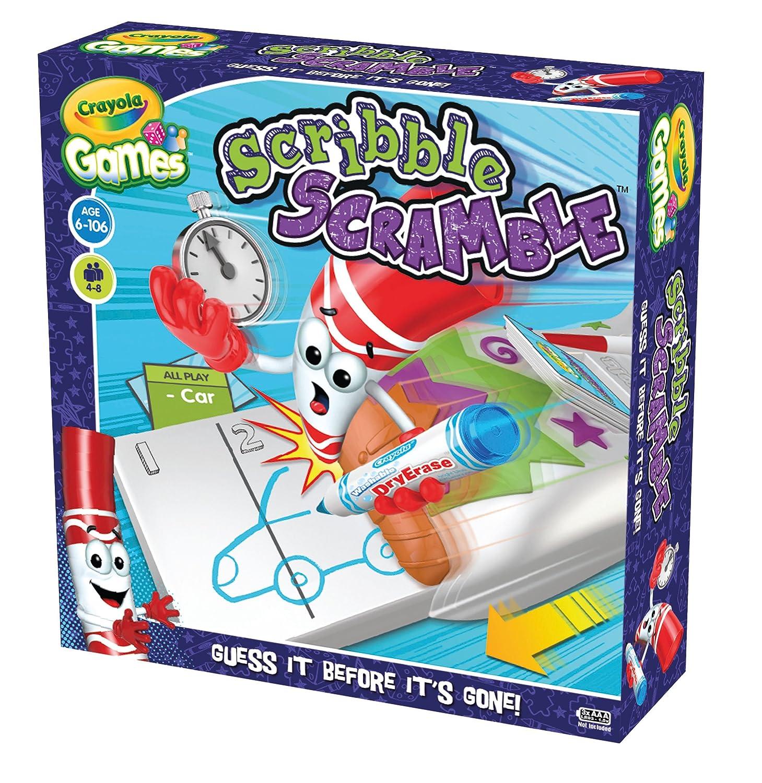 Crayola Games Scribble Scramble: Crayola: Amazon.co.uk: Toys & Games