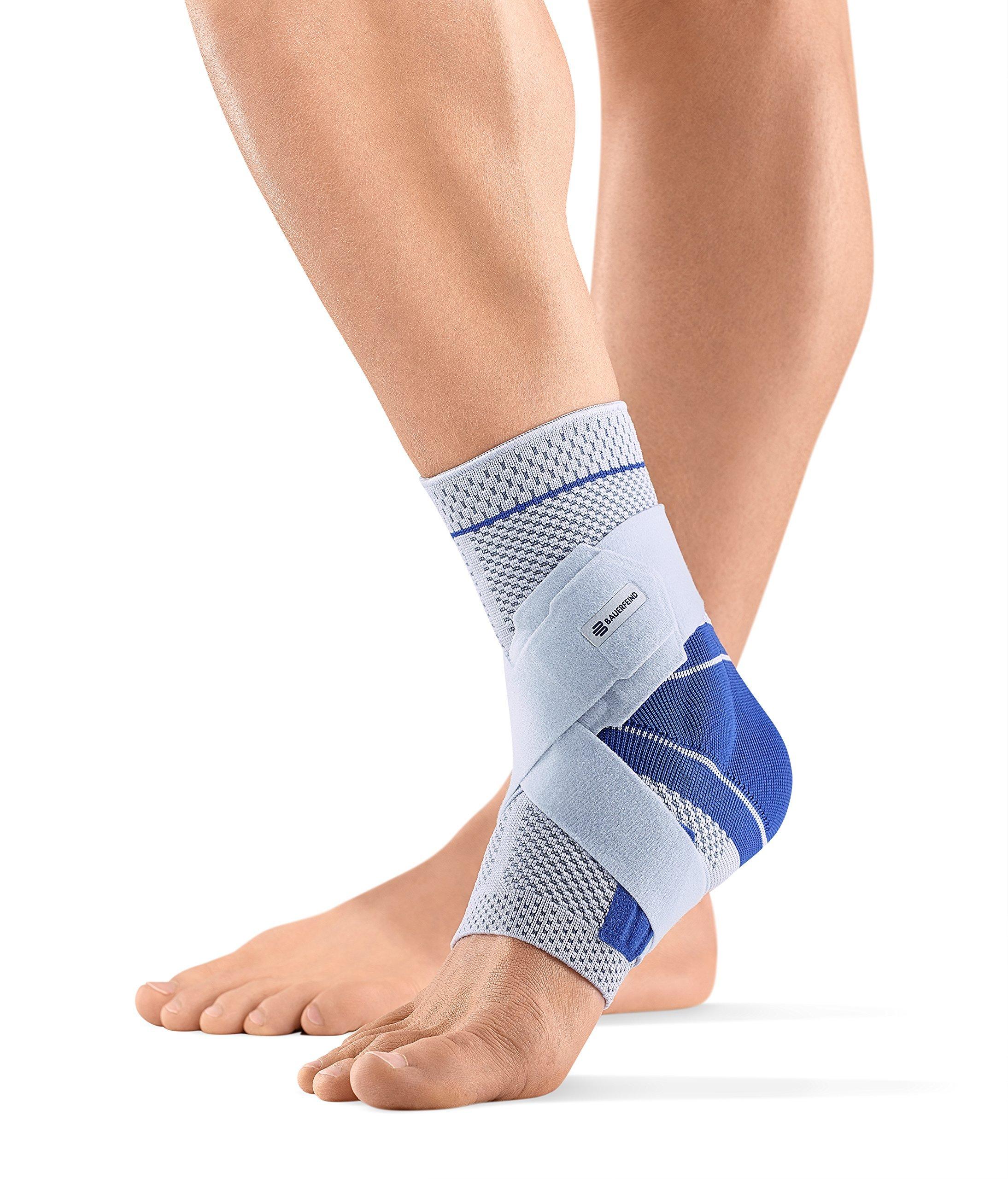 Bauerfeind MalleoTrain Plus Ankle Support - Titanium (Right,2)