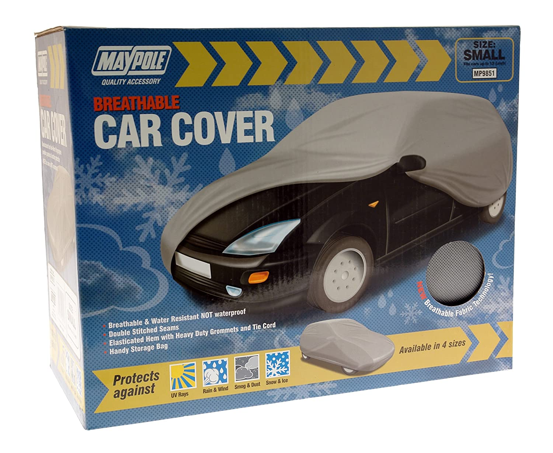 Maypole 9871 Breathable Full Car Cover, Grey, Large Maypole Limited