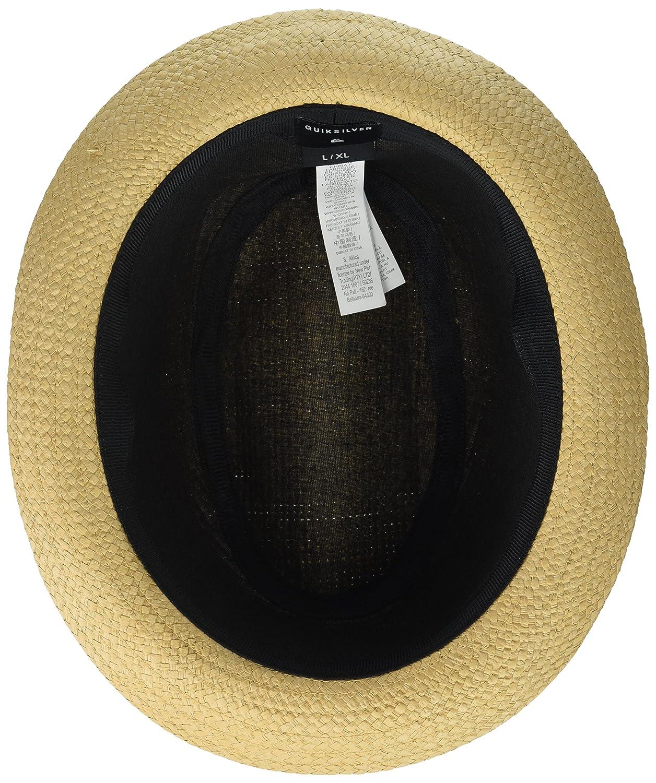 Quiksilver Schralpsten - Sombrero Borsalino de Paja para Hombre AQYHA04026   Amazon.es  Ropa y accesorios b0d1345ae886