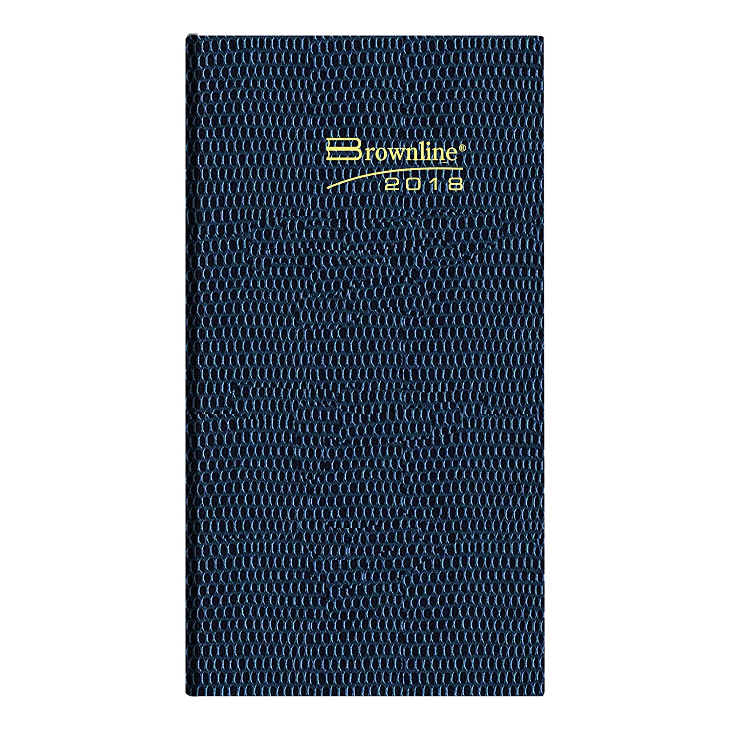 Brownline CB401.ASX-2019 2019 Daily Pocket Planner, Assorted Colours, English, 6 x 3-1/8 Colour May Vary Blueline Canada CB401.ASX-19