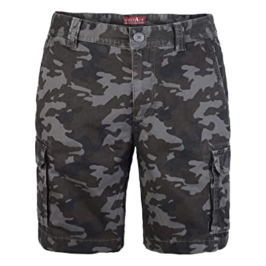 528849f4bc westAce Mens Army Cargo Combat Shorts Casual Work Cotton Chino Camo Half  Pant (32,