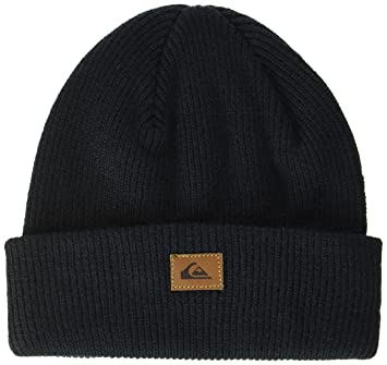 Quiksilver Performed Bonnet Homme, Anthracite/Solid, FR  Taille Unique  (Taille Fabricant