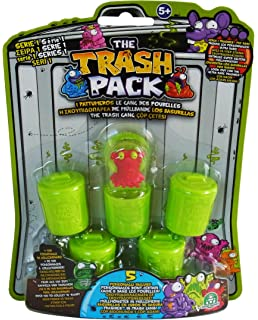The Trash Pack Garbage Truck Playset Amazoncouk Toys  Games