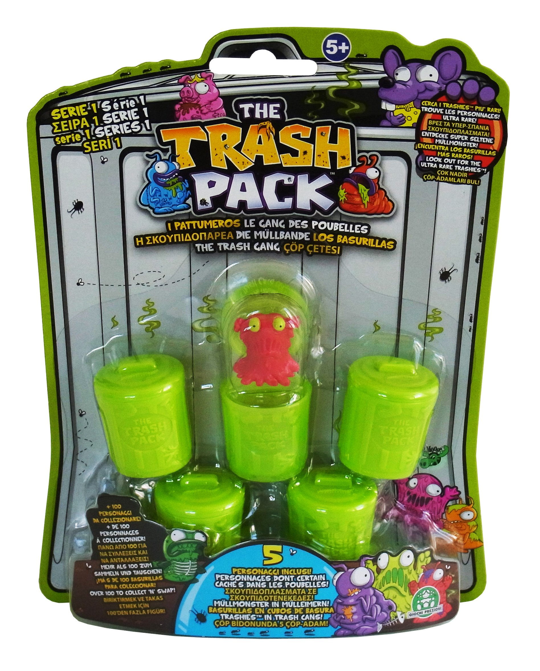 Trash Packs The Pack Collector S Wheelie Bin With 2 Exclusive Trashies