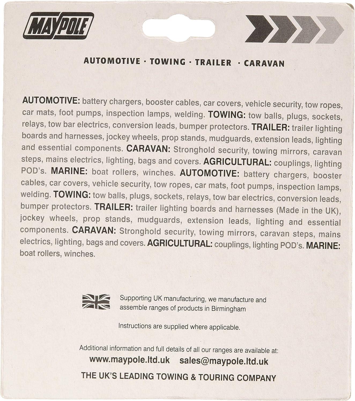 Maypole 3877a Überbrückungsrelais Und Smart Chip 7 Wege Auto