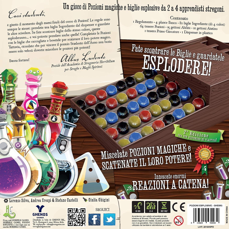 ghenos Games Pozioni explosivas 2 A edizione-gioco de mesa, Multicolor, ghe093 , color/modelo surtido: Amazon.es: Juguetes y juegos