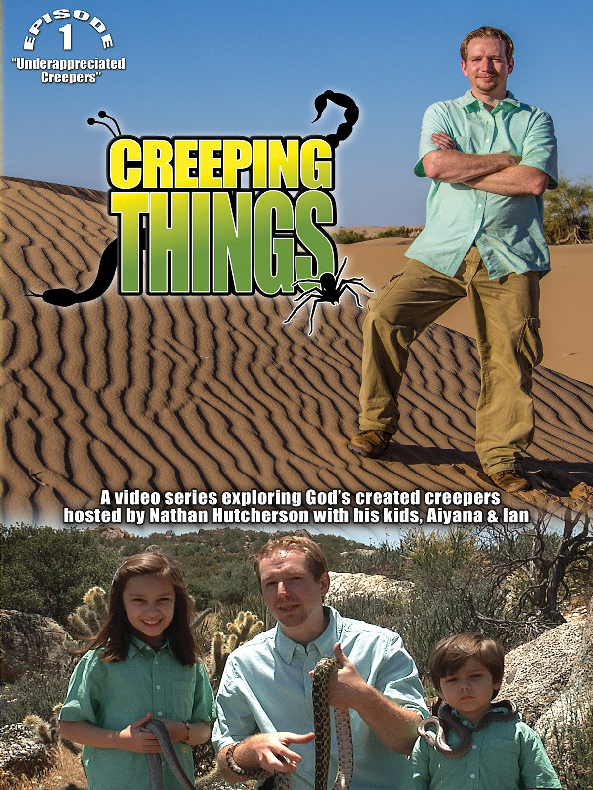 Creeping Things: Underappreciated Creatures on Amazon Prime Video UK