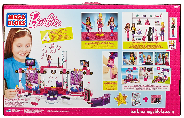 Mega Bloks Barbie 80247 Mega Rock Star