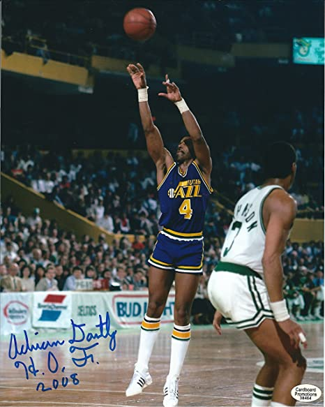 Image Unavailable. Image not available for. Color  Autographed Adrian  Dantley 8x10 Utah Jazz Photo 2f9410cbc