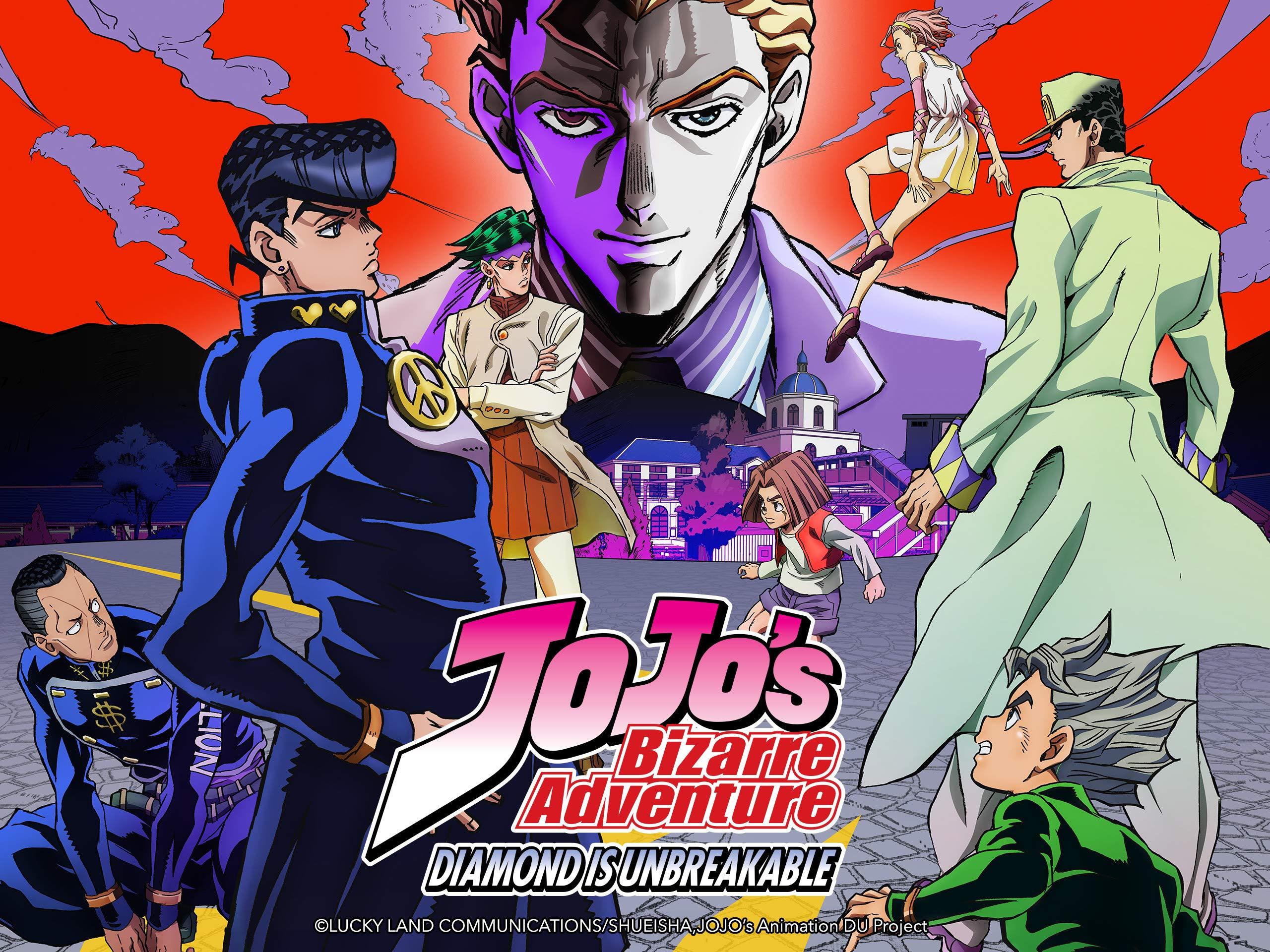 Watch Jojo S Bizarre Adventure Season 3 Volume 2 Diamond Is Unbreakable Prime Video
