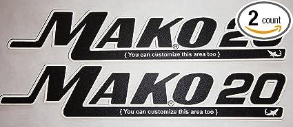 Amazon com : Mako Placards : Sports & Outdoors
