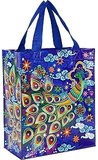 055aea1df45 Amazon.com: Blue Q Peacock Shopper: Reusable Grocery Bags: Kitchen ...