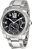 Cartier Men's W7100016 Calibre De Cartier Black Dial Watch