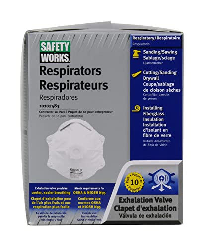 Amazon 10 10102483 Pack - Works N95 Respirator Safety Home in