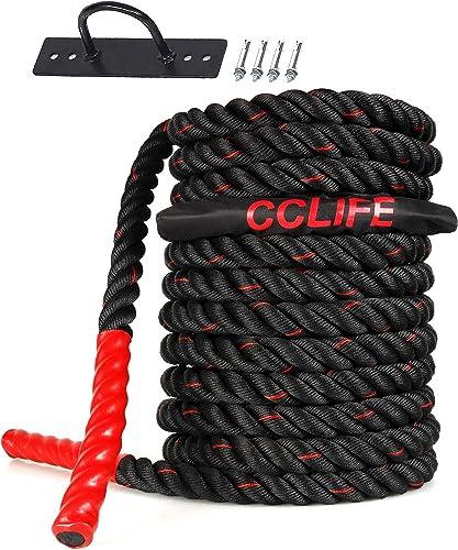 CCLIFE Battle Ropes Schlachtseil