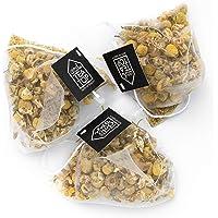 Tea Top Chamomile Tea - 20 Count - Biodegradable Pyramid Tea Bags - Gold Foil Refill