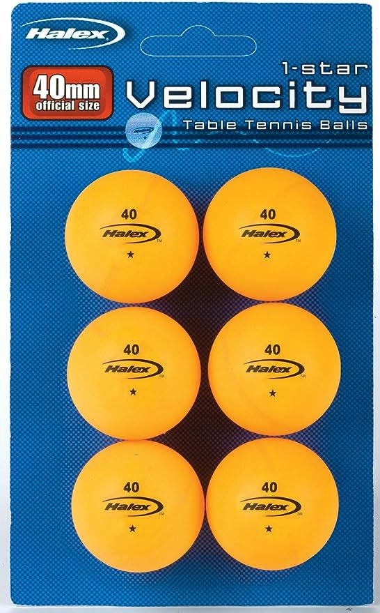 Halex Velocity 1.0 Table Tennis Paddle Medium