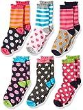 Amazon Price History for:Jefferies Socks Girls' Little Girls' Dots/Hearts/Stripes Fashion Crew socks 6 Pairs Pack