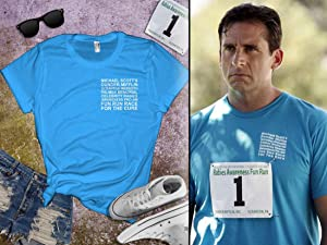 Michael Scott Fun Run Shirt - The Office Funny T-Shirt, Halloween Costume, Gift For The Office Fans, Rabies Fundraiser