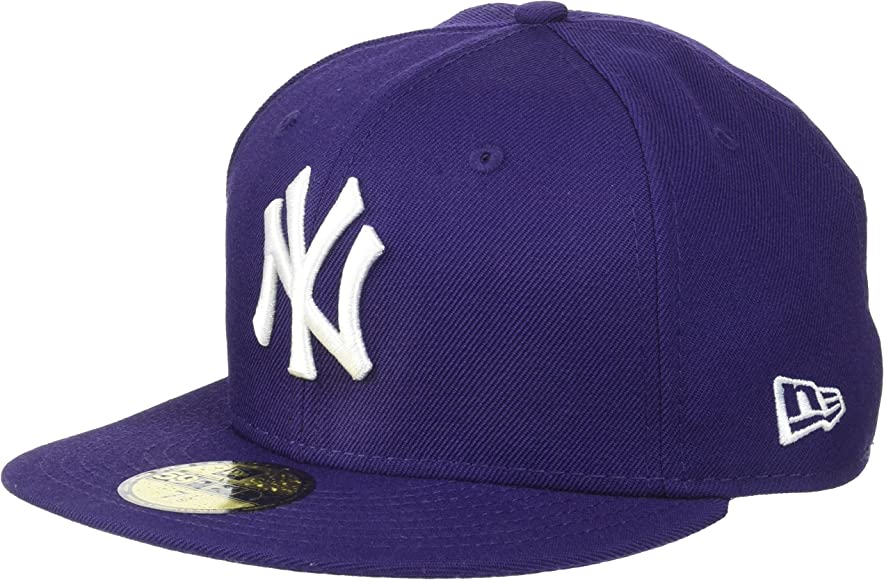 New Era MLB Basic NY Yankees 59 Fifty Fitted, Gorro para Hombre ...