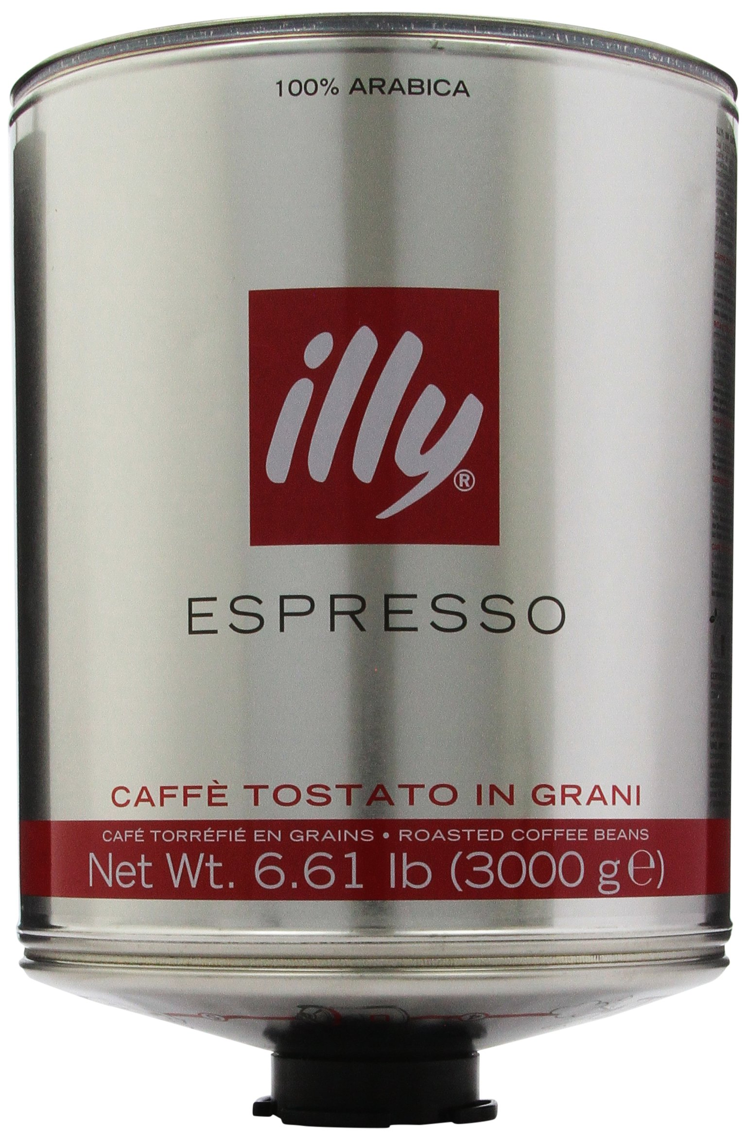 illy Scuro Dark Roast, Red Band, Whole Bean Coffee, 6.61-Pound Cans (Pack of 2) by Illy (Image #1)
