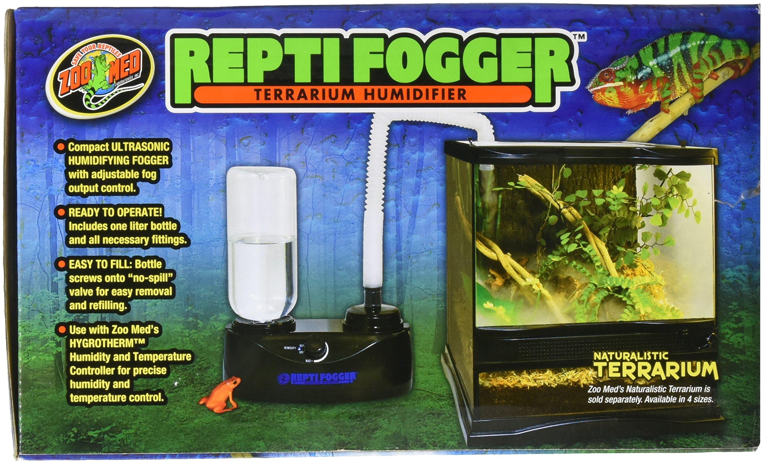Zoo Med Reptile Fogger Terrarium Humidifier Rf10 Terrarium