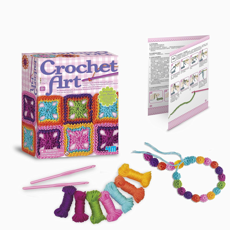 4M - Crochet Art, juego de creatividad (004M2737) , Modelos/colores ...