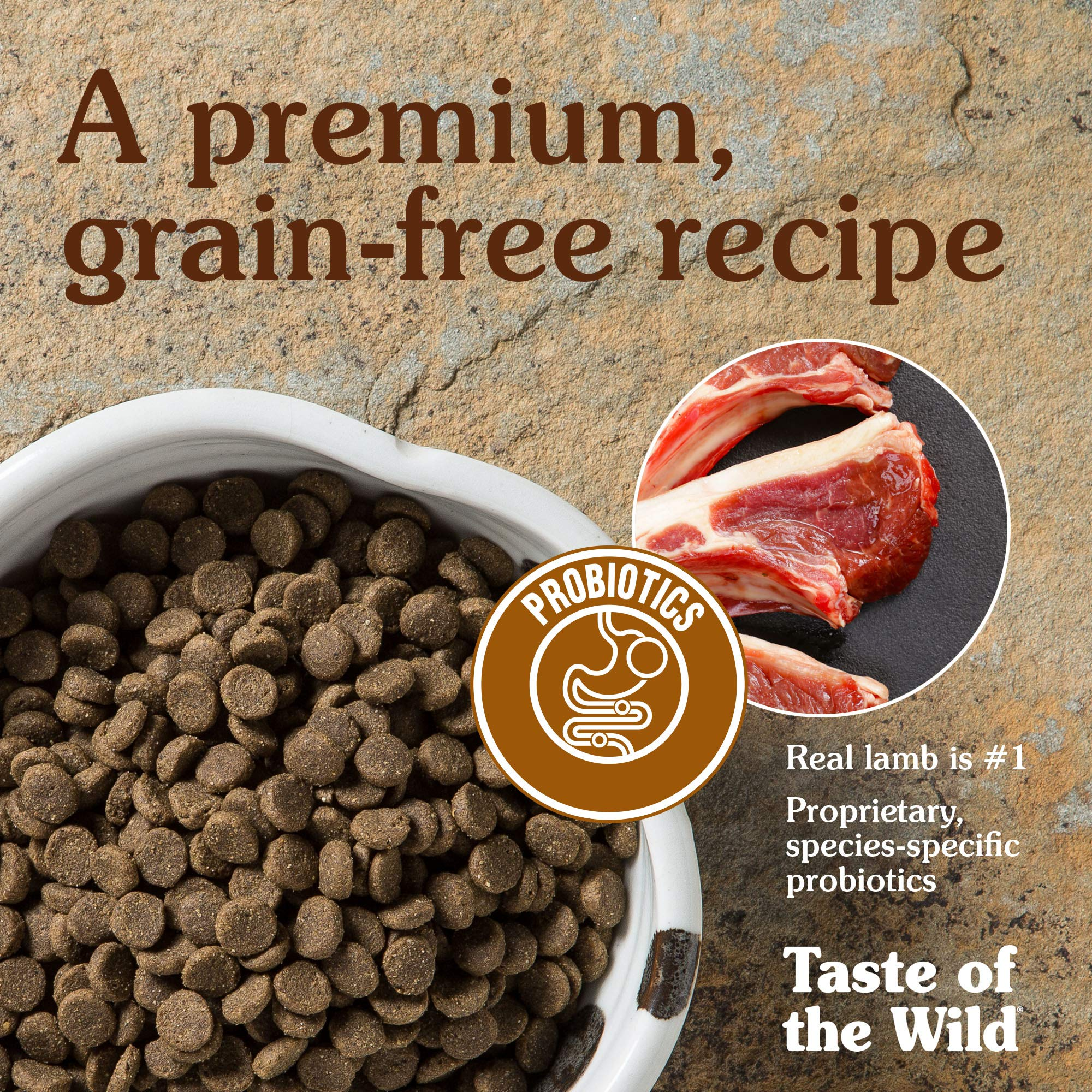 Taste of the Wild Grain Free High Protein Real Meat Recipe Sierra Mountain Premium Dry Dog Food, 28 lb by Taste of the Wild (Image #6)