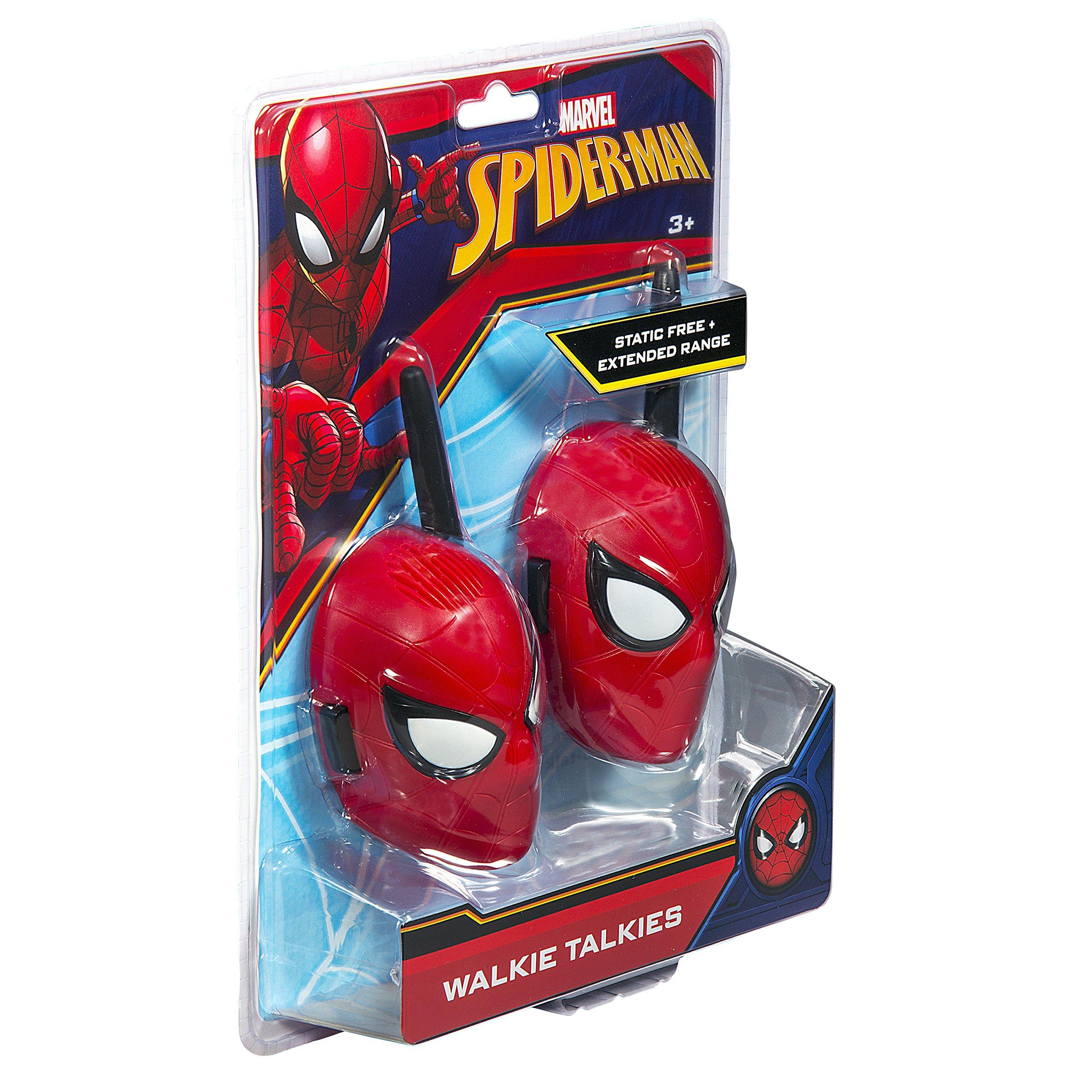 Spiderman Walkie Talkies for Kids Static Free Extended Range Kid Friendly Easy to Use 2 Way Walkie Talkies by eKids (Image #6)