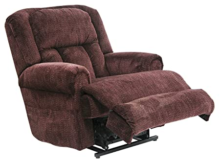 Catnapper Burns 4847 Power Dual Motor Infinate Position Full Lay Flat Lift Chair Recliner – Vino with In-Home Delivery and Setup
