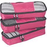 eBags Classic Slim 3pc Packing Cubes (Peony)