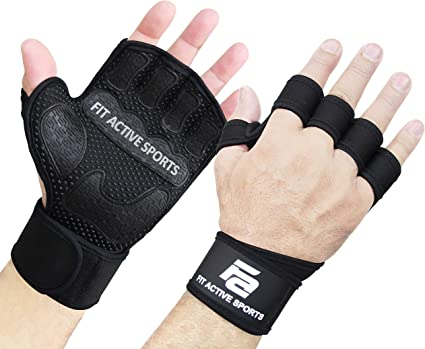 4 Colors Gym Body Training Fitness Gloves Sports Weight Lifting Workout Exercise