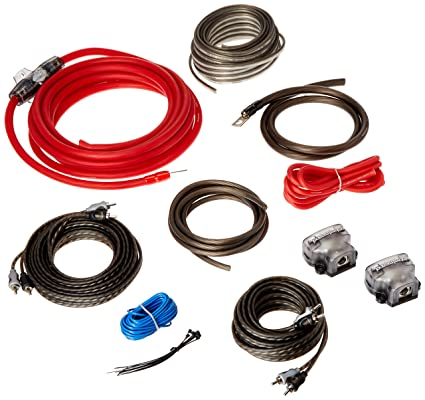 rockford fosgate rfk4d 4 awg dual amplifier install kit amazon in rh amazon in dual car amplifier wiring diagram 1/0-gauge dual amplifier power wiring kit