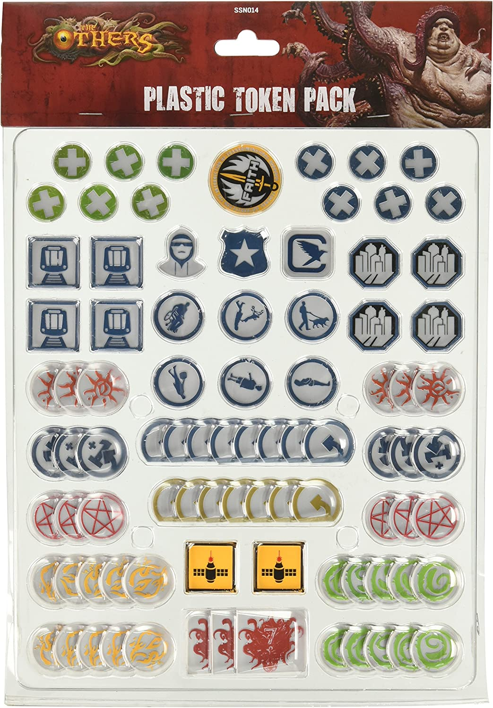 The Others: 7 Sins: Plastic Token Pack: Amazon.es: Juguetes y juegos