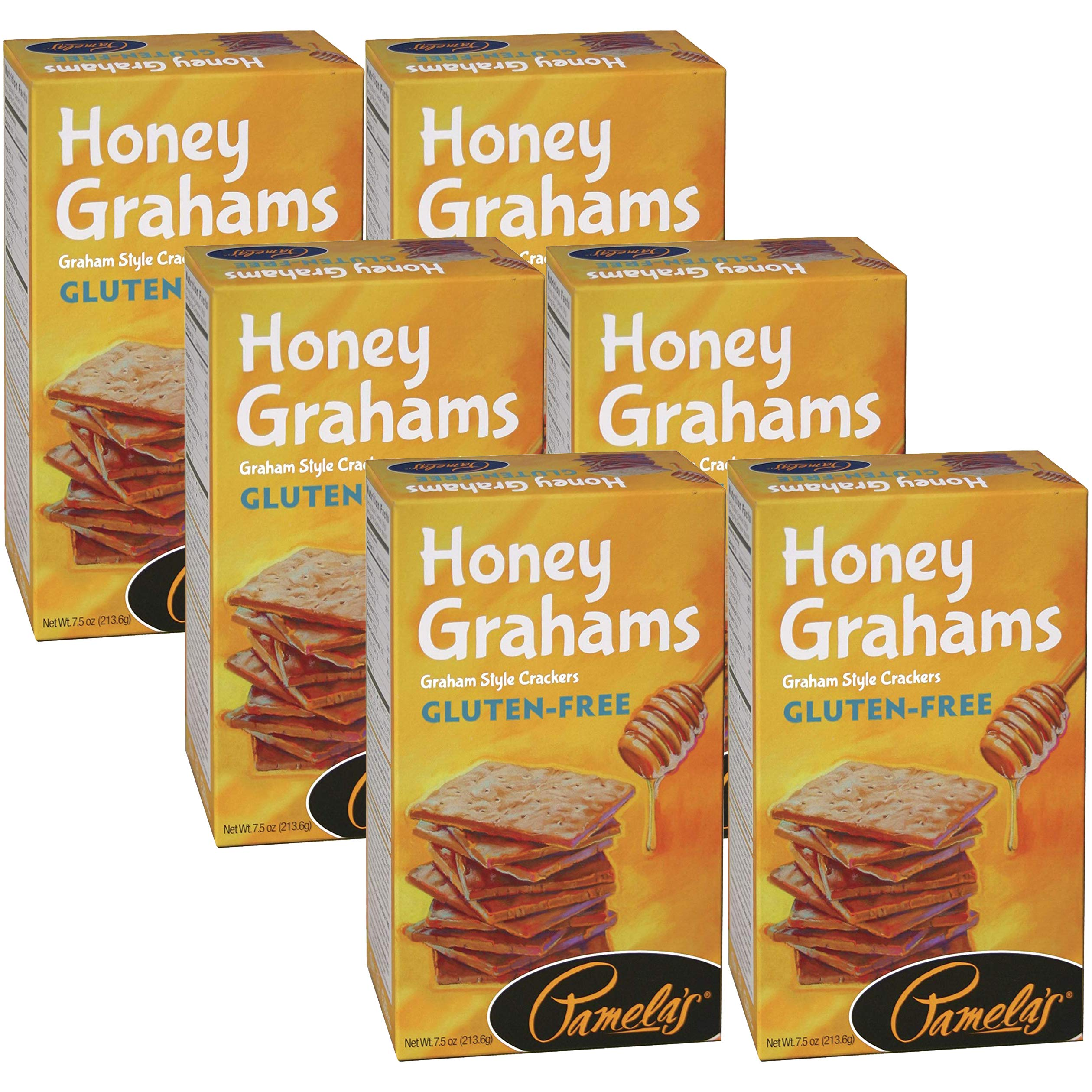 Pamelas Honey Grahams, 7.5 Ounce - 6 per case.