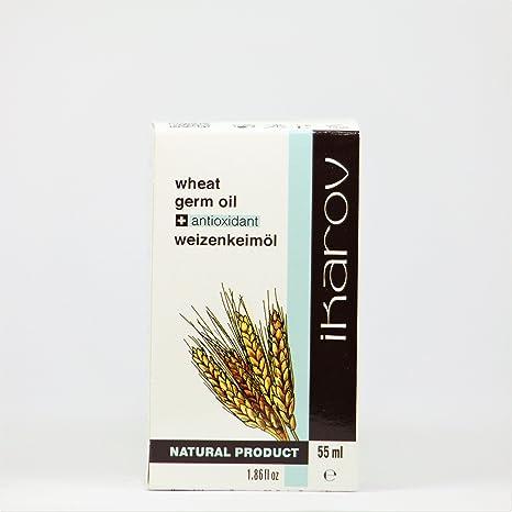 Aceite para gérmenes de trigo natural + antioxidante natural y vitamina E, 55 ml Ikarov